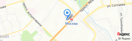 Жас-Ай на карте Алматы