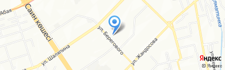 Альбедо на карте Алматы