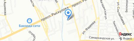 Теплоинвест-Азия на карте Алматы
