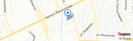 Промтехмонтаж на карте Алматы
