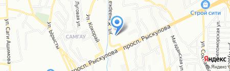 МетПроф М на карте Алматы