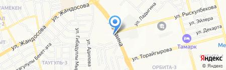 Имперская безопасность на карте Алматы
