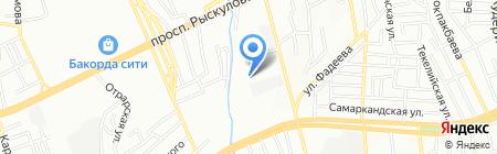 Техпромподшипник на карте Алматы