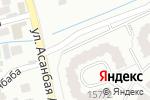 Схема проезда до компании I.C.Company в Алматы