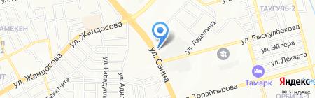 Натали ЛТД на карте Алматы