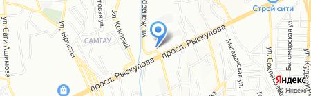 Каркас Тент Центр на карте Алматы