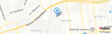 3D AUTOSERVICE на карте Алматы