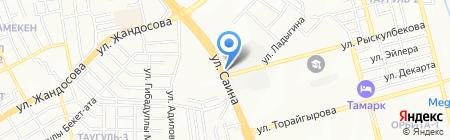 Япона Мама на карте Алматы