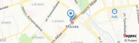 Казахинстрах АО на карте Алматы