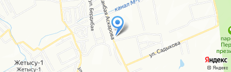 Базис-Люкс на карте Алматы