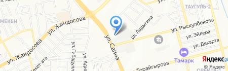 Строй Ве и Ко на карте Алматы