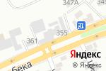 Схема проезда до компании Иверия в Алматы