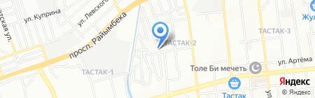 Сабе на карте Алматы