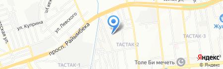 Нур-Нур продуктовый магазин на карте Алматы