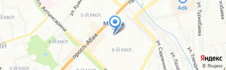 Арт-фотостудия Ольги Уткиной на карте Алматы