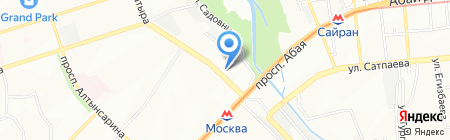 IT-Center на карте Алматы