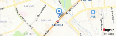 Акнур продуктовый магазин на карте Алматы
