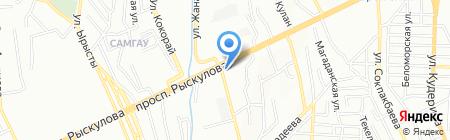 Инкам на карте Алматы
