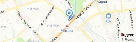 AquaDen на карте Алматы