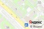 Схема проезда до компании Фараб в Алматы