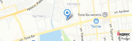 Ак-Кала XXI на карте Алматы