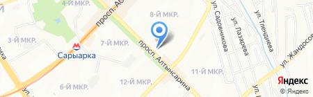 Департамент комитета технического регулирования и метрологии Министерства индустрии и новых технологий на карте Алматы