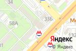 Схема проезда до компании Oasis в Алматы