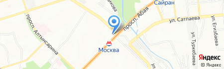Oasis на карте Алматы