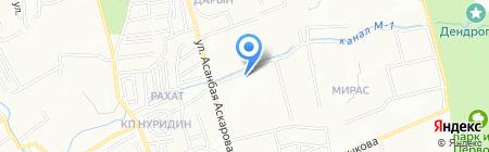 ЖЭУ Бостандыкского района на карте Алматы