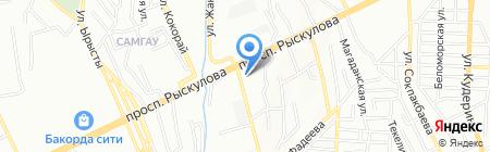 Данас на карте Алматы