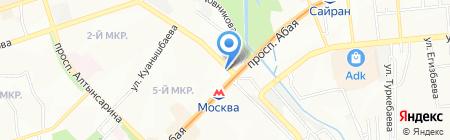 ЛВИ-Интернешнл на карте Алматы