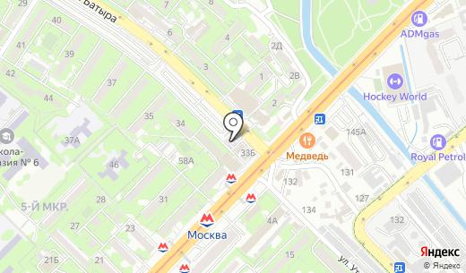 ЛВИ-Интернешнл. Схема проезда в Алматы