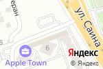 Схема проезда до компании Baci в Алматы