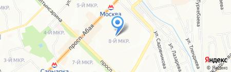 Школа-лицей №119 на карте Алматы