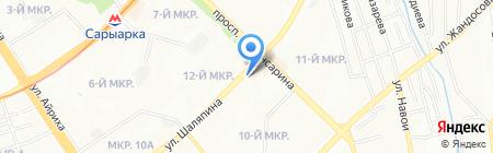 Киш-Миш на карте Алматы