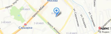 Общеобразовательная школа №116 на карте Алматы