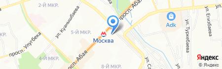 Aman Sauda International на карте Алматы