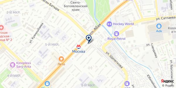 Vazari Telecom на карте Алматы