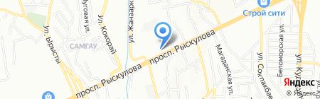 Бутик нижнего белья и чулочно-носочных изделий на карте Алматы