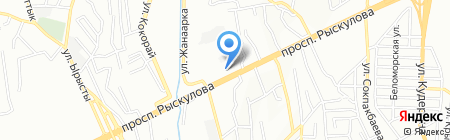 Интерпрофиль на карте Алматы
