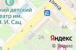 Схема проезда до компании Jadele в Алматы