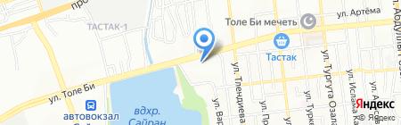 Аракс на карте Алматы