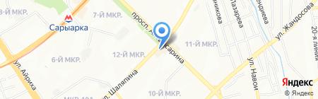 DeLores на карте Алматы