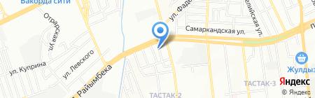 KZ Coway на карте Алматы