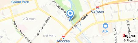 Карапай строй ТОО на карте Алматы