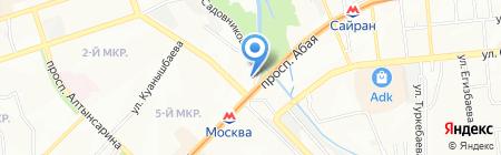 La Joie на карте Алматы