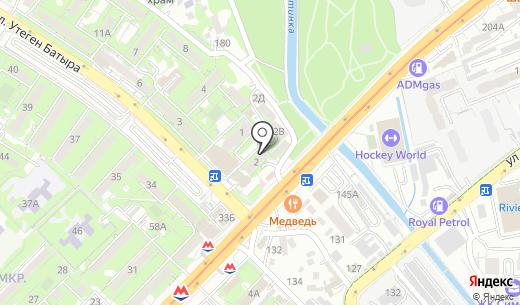 Rich. Схема проезда в Алматы