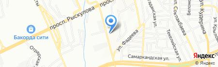 TES`CO на карте Алматы
