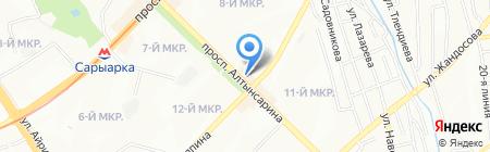 NIKA студия красоты на карте Алматы
