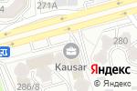 Схема проезда до компании Быстролл в Алматы
